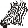 Tribal Horse Stickers 7