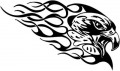 Tribal Eagle Stickers 12