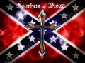 southern and proud rebel flag sticker