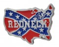 redneck belt buckle design sticker