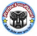 What Side Are You On Transformer Decal Sticker