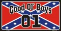 Good Ol Boys 01 Rebel Flag Sticker