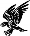 Tribal Eagle Stickers 08