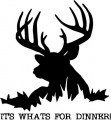 Deer Hunting Diecut Vinyl Decals 2